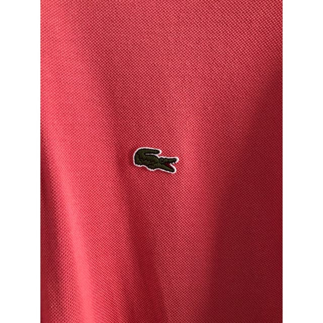 Pink Lacoste Polo