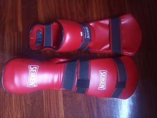 Espinillera bota Kick Boxing