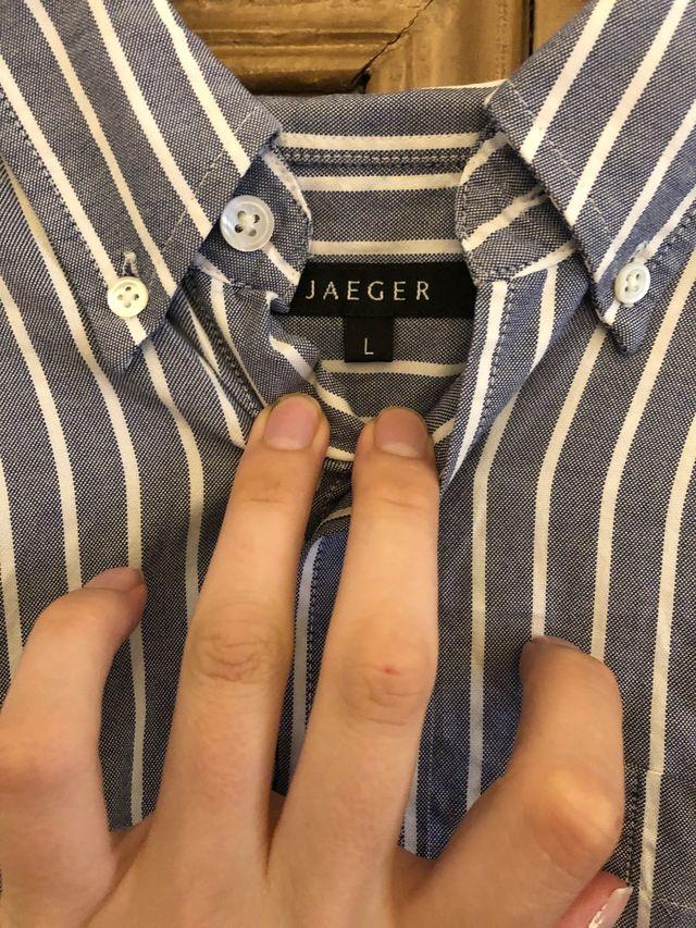 Jaeger striped shirt