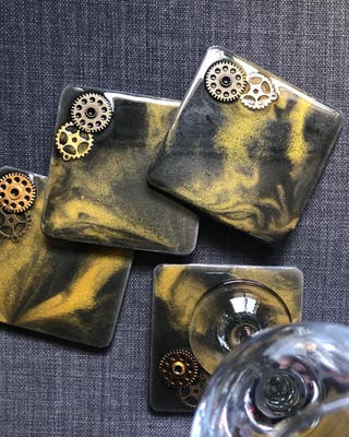 Handmade coasters and more
