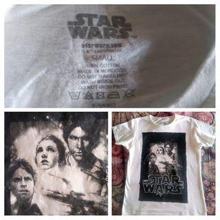 Camiseta Star Wars S o 34-36. Cambia de color!!