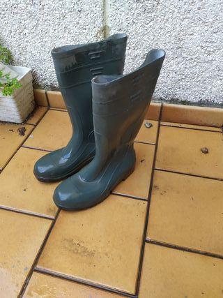 botas de goma agua