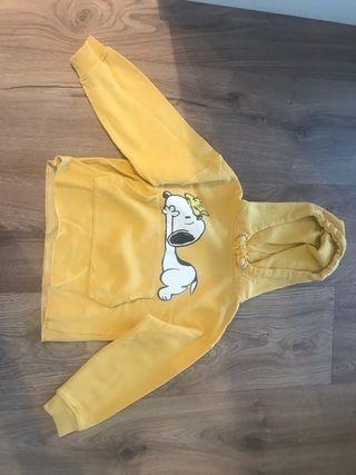 Sudadera Snoopy niña