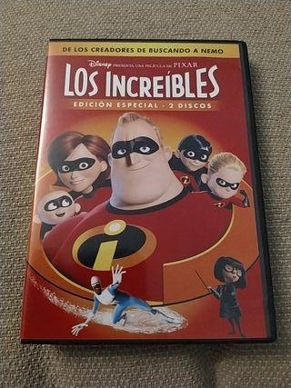 DVD - Los Increíbles (2 discos)