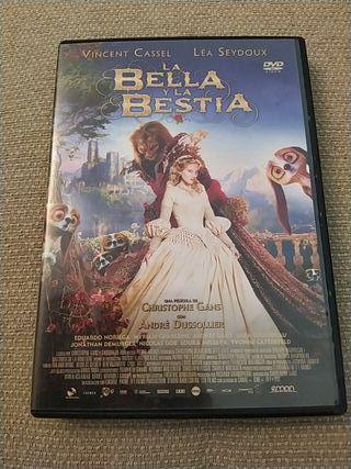DVD - La bella y la bestia