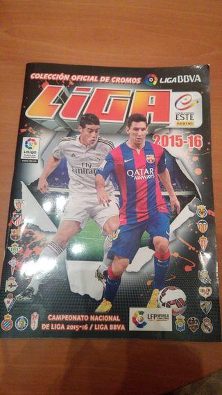 Album de Fútbol 2015-2016