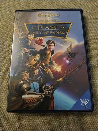DVD - El planeta del tesoro
