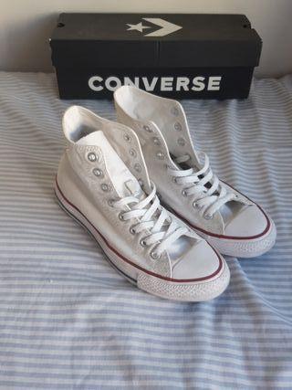 converse blancas 41