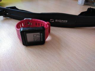 pulsómetro nuevo con banda elástica