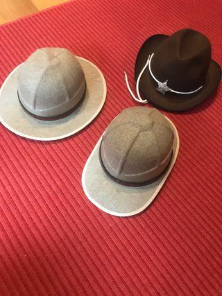 Sombreros disfraz safari cowboy