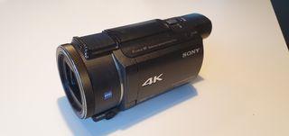 Videocámara profesional 4K Sony AX53