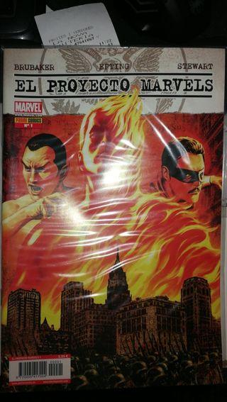 El proyecto Marvels.Brubaker/Epting/Stewart.Comic