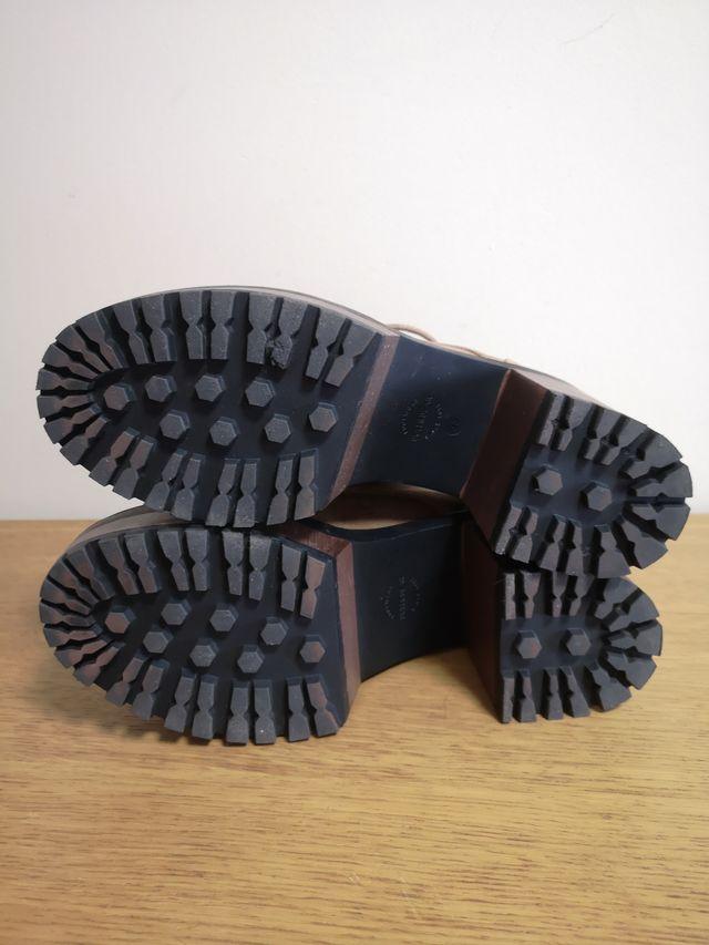 zapato cordones 38