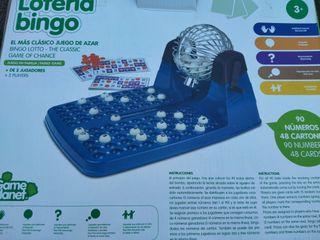 Lotería bingo de juguete