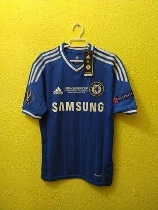 Camiseta techfit Chelsea Azpilicueta Final 2013