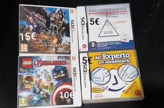 Juegos Nintendo ds y 3ds