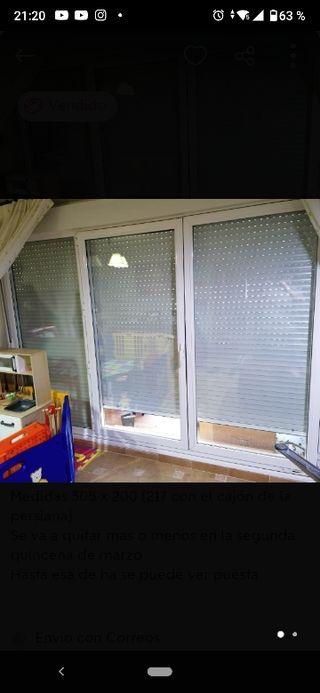 ventanal balconera climalit