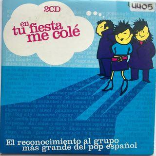 CD Single Tributo Mecano En tu fiesta me colé