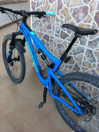 bicicleta santa cruz carbon