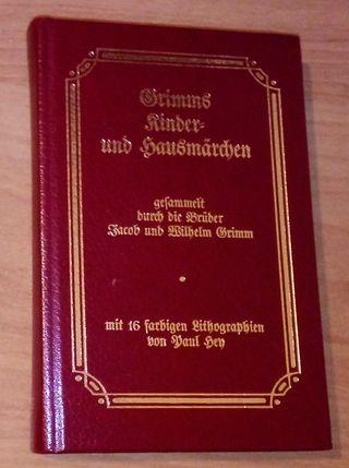 Cuentos de los hermanos Grimm en alemán