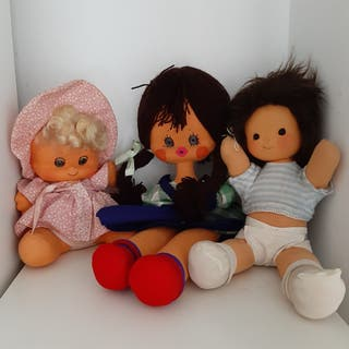 Muñecas Antiguas / Muñecas De Fieltro