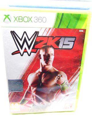 W2K15 Videojuego Xbox 360 Nuevo