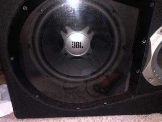 JBL Bass box + amplifier JBL