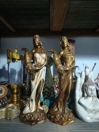 Diosa de la fortuna Color bronce
