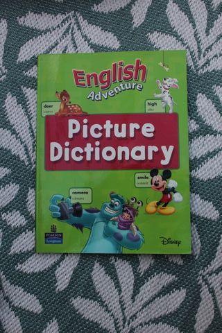 libro Disney inglés