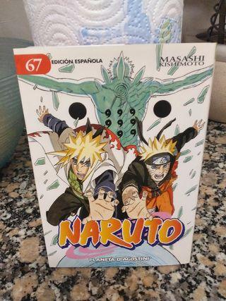 "Cómic manga ""Naruto"" n° 67"