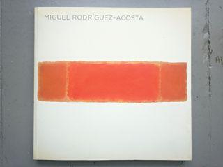Libro Miguel Rodríguez-Acosta / Pintura Siglo XX