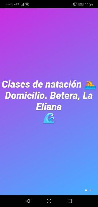 CLASES DE NATACION NIÑOS Y ADULTOS