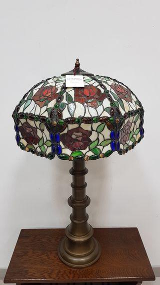 Lampara Tiffany Antigua de Mesa