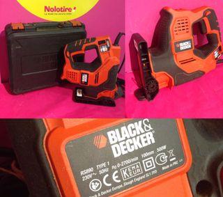 SIERRA SABLE BLACK & DECKER RS890 TYPE 1