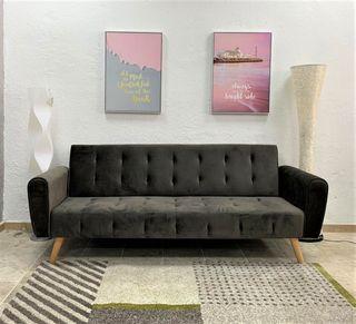 Sofa Cama Terciopelo