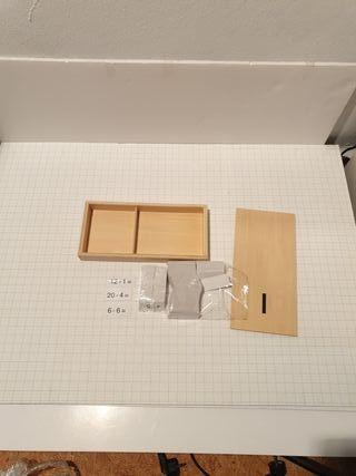 Caja operaciones resta Montessori