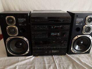 Denon D-3030, potencia real 2x50 W, negociable