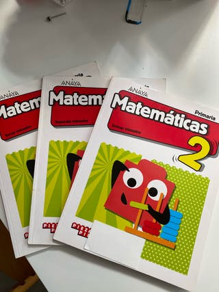 Matemáticas 2EP ANAYA