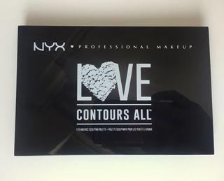 Paleta de maquillaje NYX