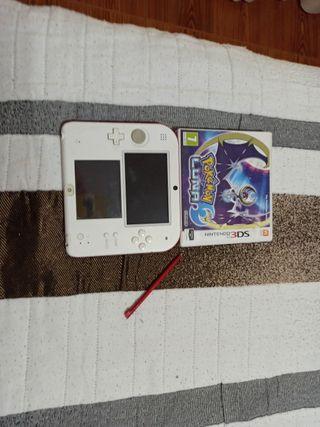 Nintendo 2Ds + Pokemon Luna
