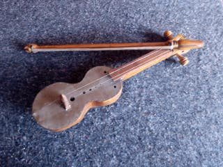 Rabel madera instrumento Tradicional