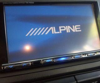 Se vende o cambio pantalla táctil alpine