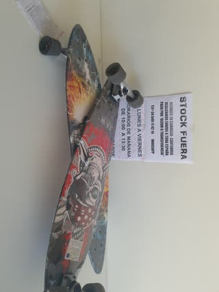 30€ PATINETA 96x23 J & M LONG BOARD STOCK FUERA