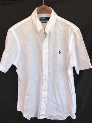 Camisa blanca manga corta POLO RALPH LAUREN M