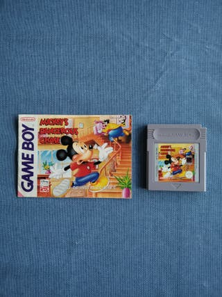 Mickey Mouse Dangerous chase. Game Boy
