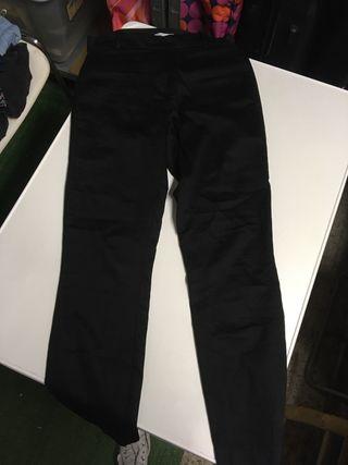 Pantalones tipo traje negros