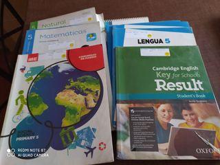 lote libros 5 de primaria