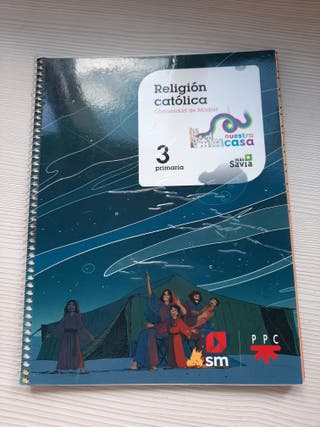 Libro Religion 3°primaria SM