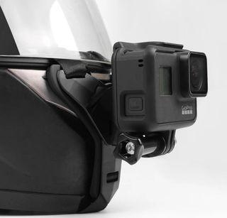 Soporte GoPro casco moto