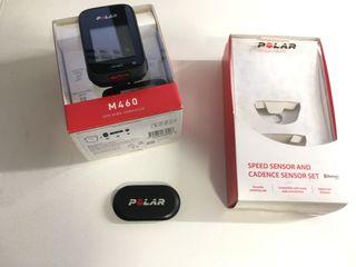 Polar M460+ banda H10+ sensor cadencia y velocidad